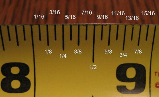 Tape Measure Test >> Measuring Instructions | Table Pad Store